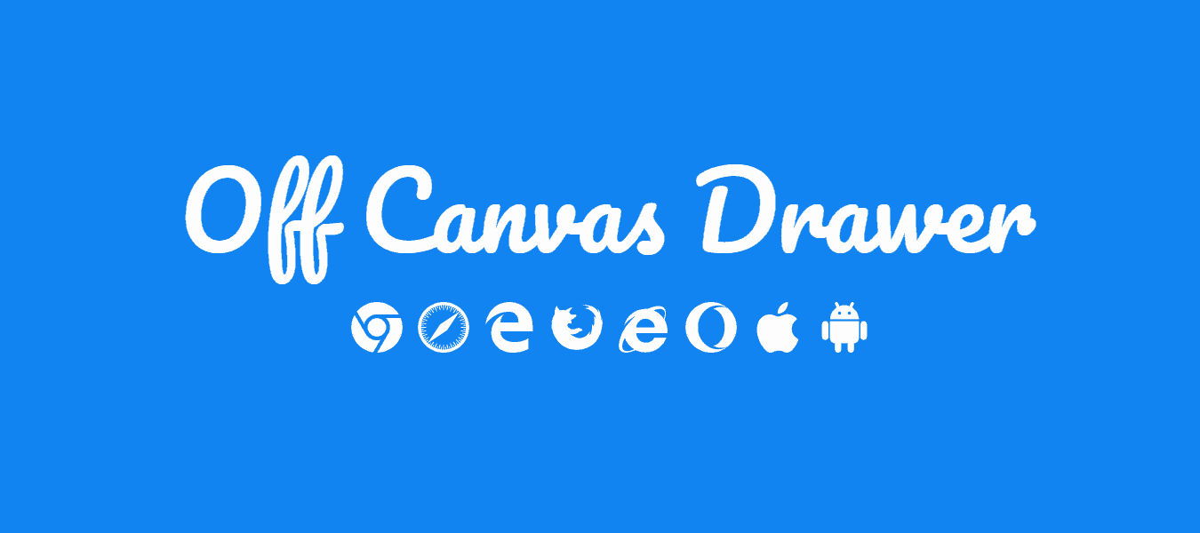 PURE CSS DRAWER