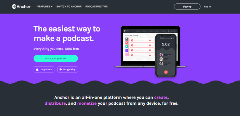 Best Podcast Hosting Anchor