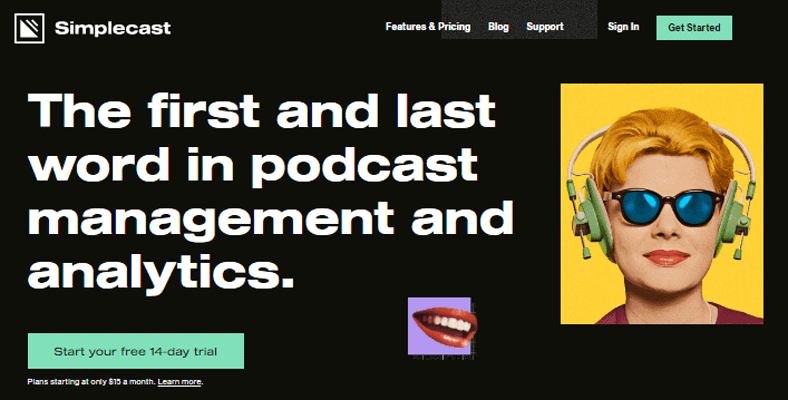 Best Podcast Hosting Simplecast