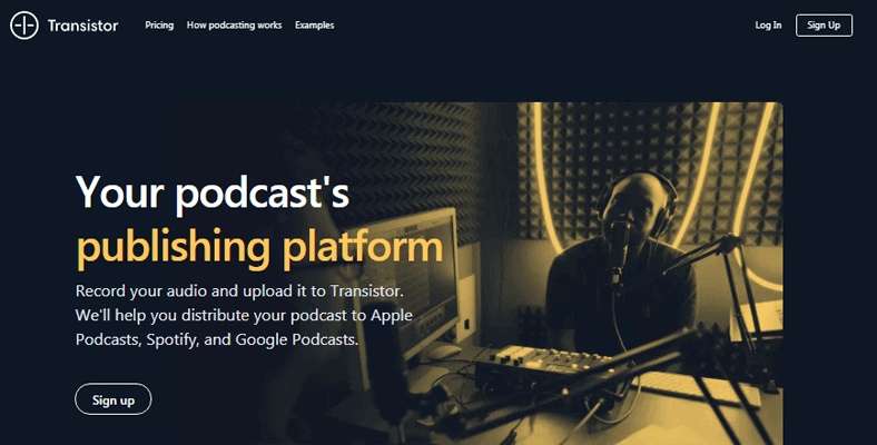 Best Podcast Hosting Transistor
