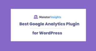 wordpress google analytics plugin
